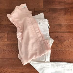 White Guess Skinny jeans, size 30.